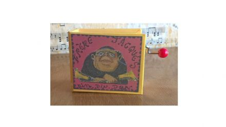 Frere Jacques Hand Cranked Musical Box